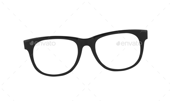 Glasses isolated - Stock Photo - Images