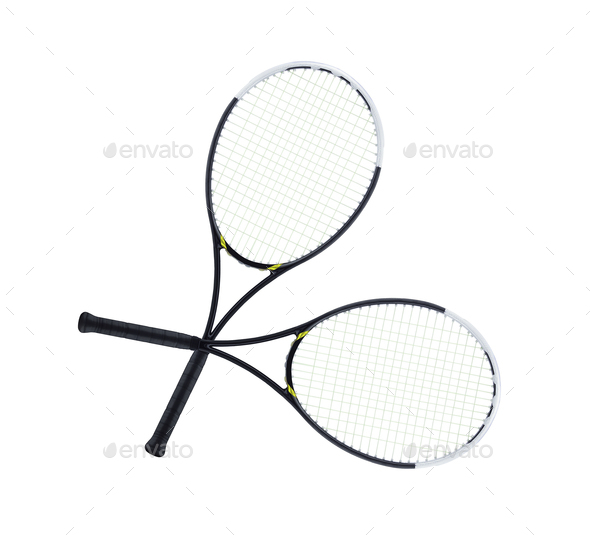 Tennis rockets - Stock Photo - Images
