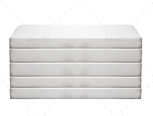 Orthopedic mattress isolated - Stock Photo - Images