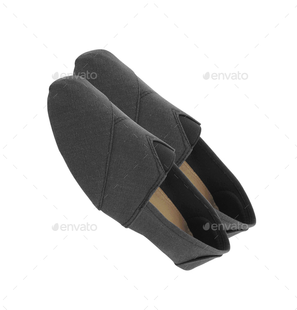 Pair of loafers isolated on white - Stock Photo - Images