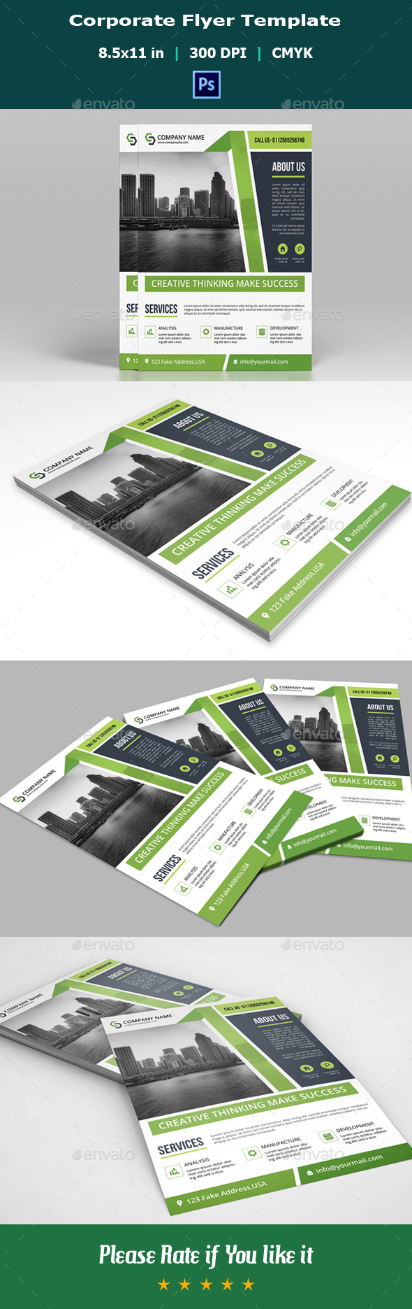 Corporate Flyer V10 - Corporate Flyers
