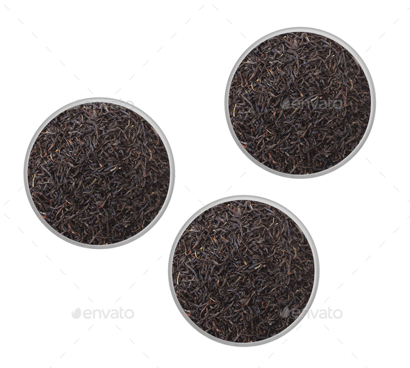 Dry Tea isolated - Stock Photo - Images