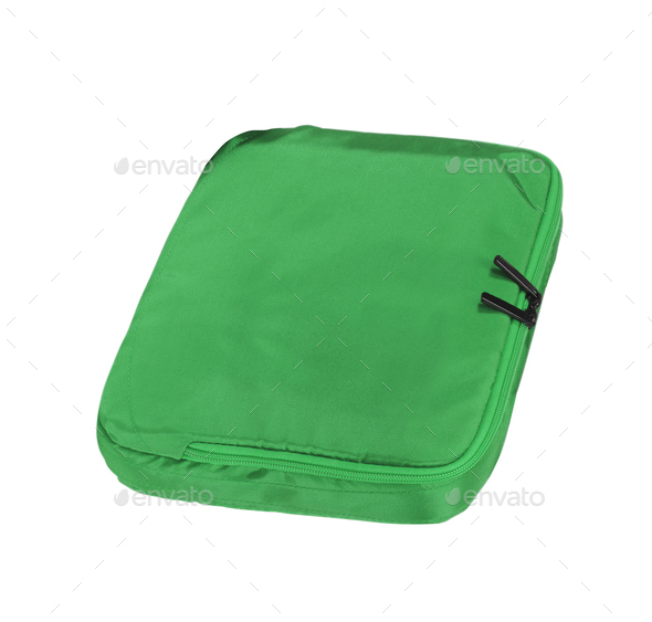 Laptop case isolated on white background - Stock Photo - Images