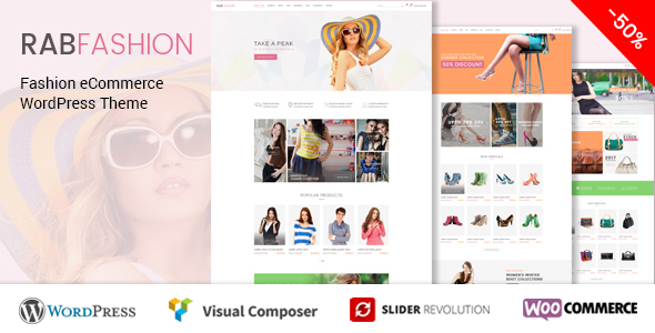 RAB - Fashion eCommerce WordPress Theme - WooCommerce eCommerce