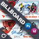 Winter Adventure Billboard Templates