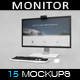 Monitor Set MockUp - GraphicRiver Item for Sale
