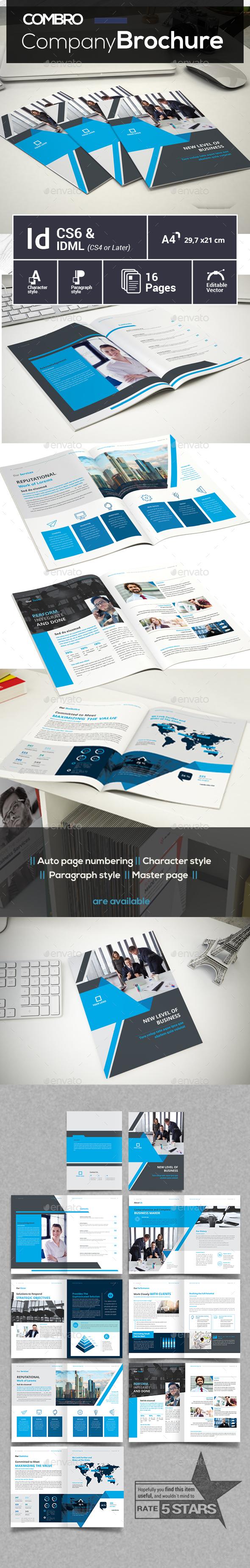 GraphicRiver Company Brochure 21148841
