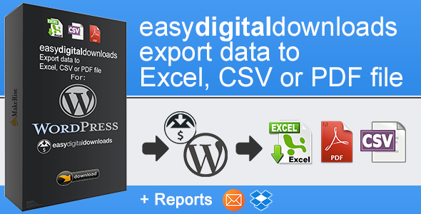 EasyDigitalDownloads Export - CodeCanyon Item for Sale