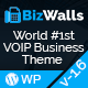 BizWalls | Responsive VOIP & Virtual Phone Business WordPress Theme - ThemeForest Item for Sale