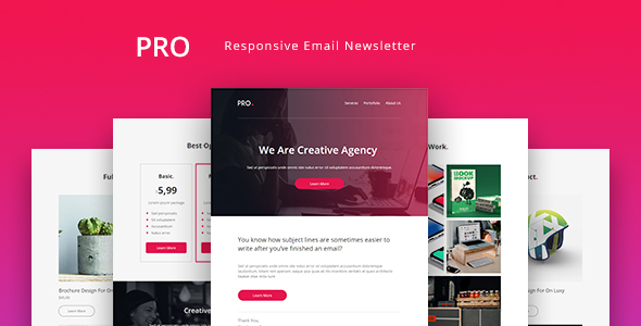 ThemeForest Pro Agency Email Newsletter Template 21069235