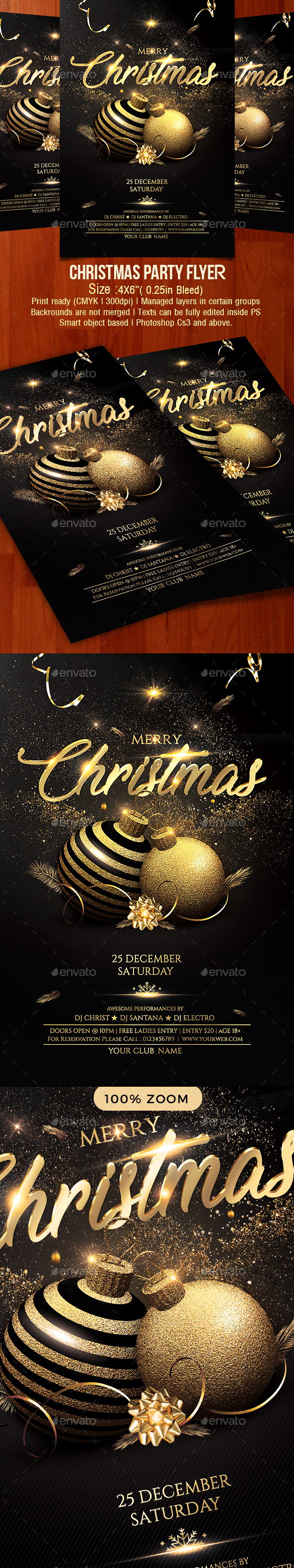 GraphicRiver Christmas Flyer 21149031