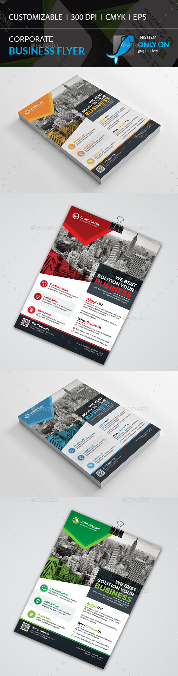 GraphicRiver Corporate Flyer 21149126