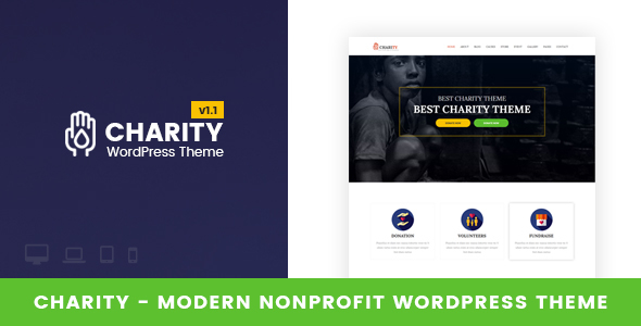 Image of Charity - Nonprofit WordPress Theme