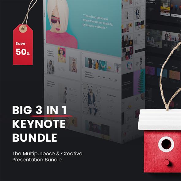 GraphicRiver Special Keynote Big Bundle 3 in 1 21149194