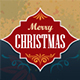 Christmas Greeting Card Vector Design