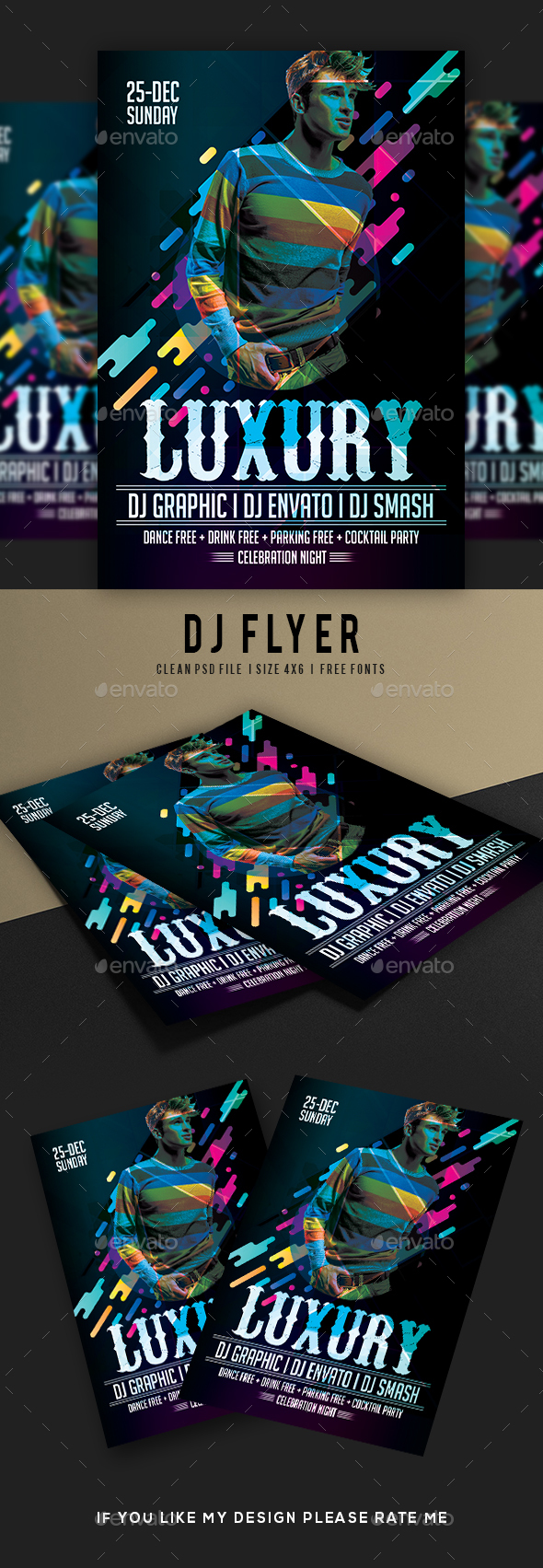 GraphicRiver DJ Flyer 21149301