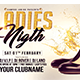 Ladies Nigth-Flyer Template - GraphicRiver Item for Sale