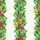 Merry Christmas Seamless Pattern with Garlands - GraphicRiver Item for Sale