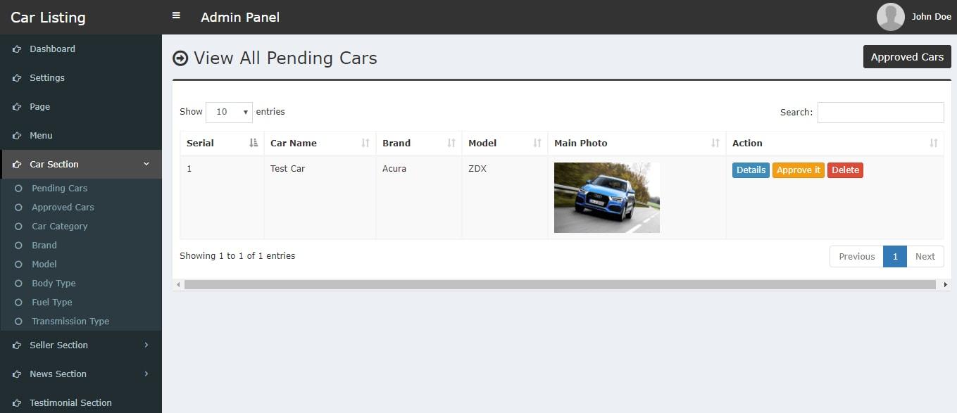 Carlisting - Auto and Car Listing Multi-Vendor Directory CMS by xicia