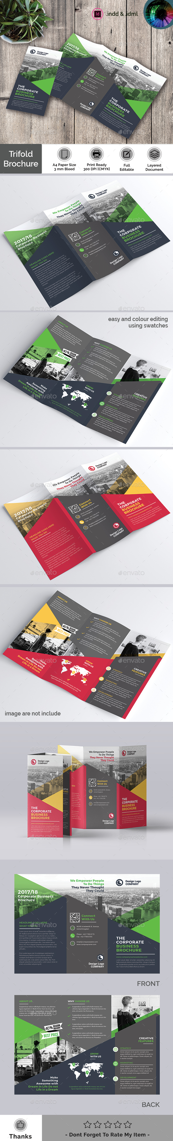 GraphicRiver Trifold Brochure 21149816