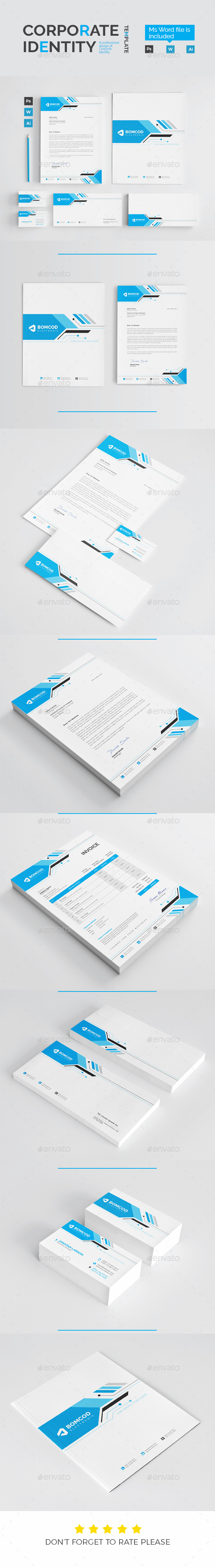 GraphicRiver Corporate Identity 21149926