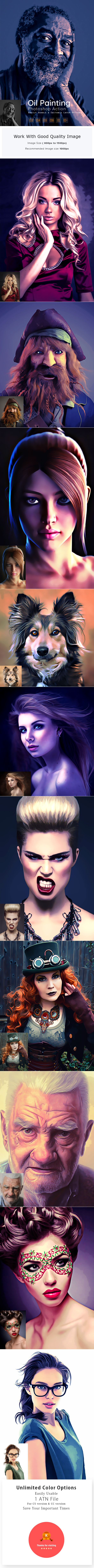 GraphicRiver Oil Painting Action 21149995