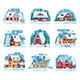 Winter Houses and Cabins Set - GraphicRiver Item for Sale