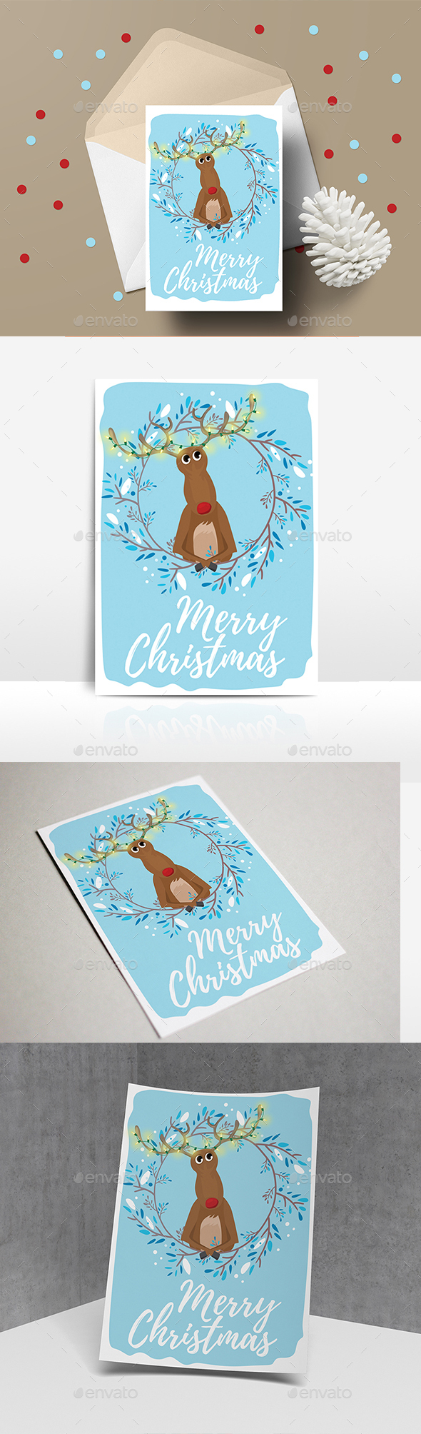 GraphicRiver Christmas Card 21150237