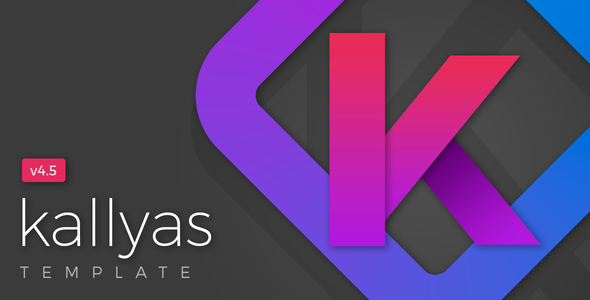 KALLYAS - Gigantic Premium Multi-Purpose HTML5 Template - Creative Site Templates
