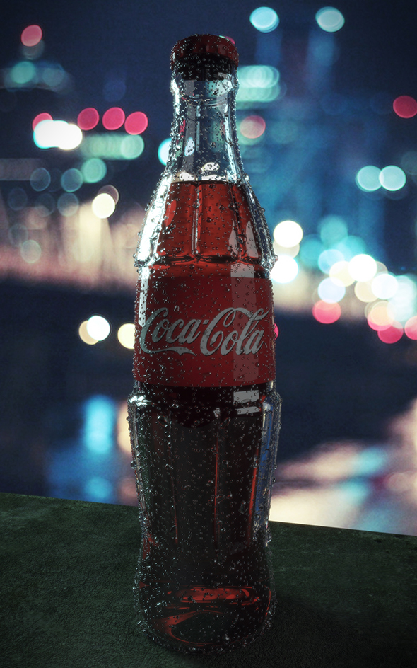 Coca Cola - 3DOcean Item for Sale