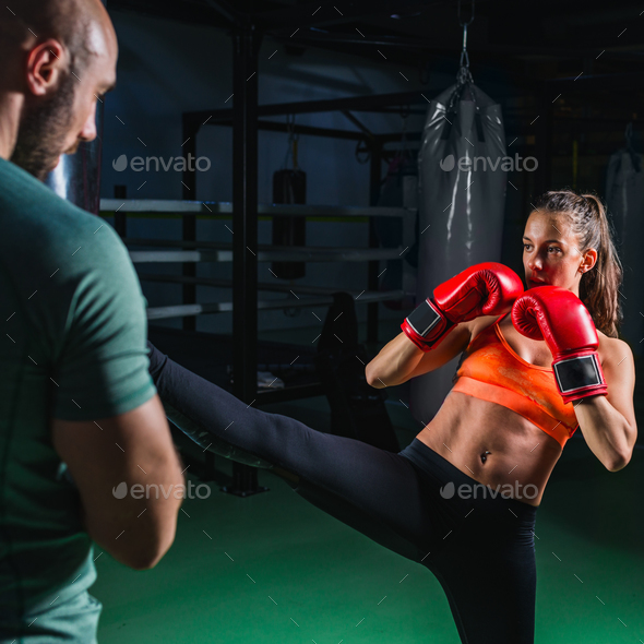 Boxing class - Stock Photo - Images
