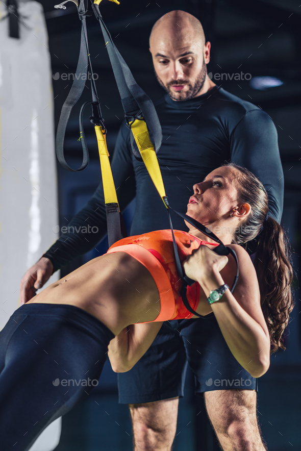 Recreationa boxing trainer 2882 f1 - Stock Photo - Images