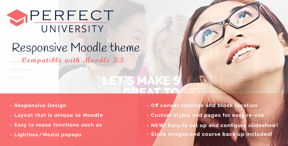 ThemeForest Perfekt Moodle Perfection 21150560