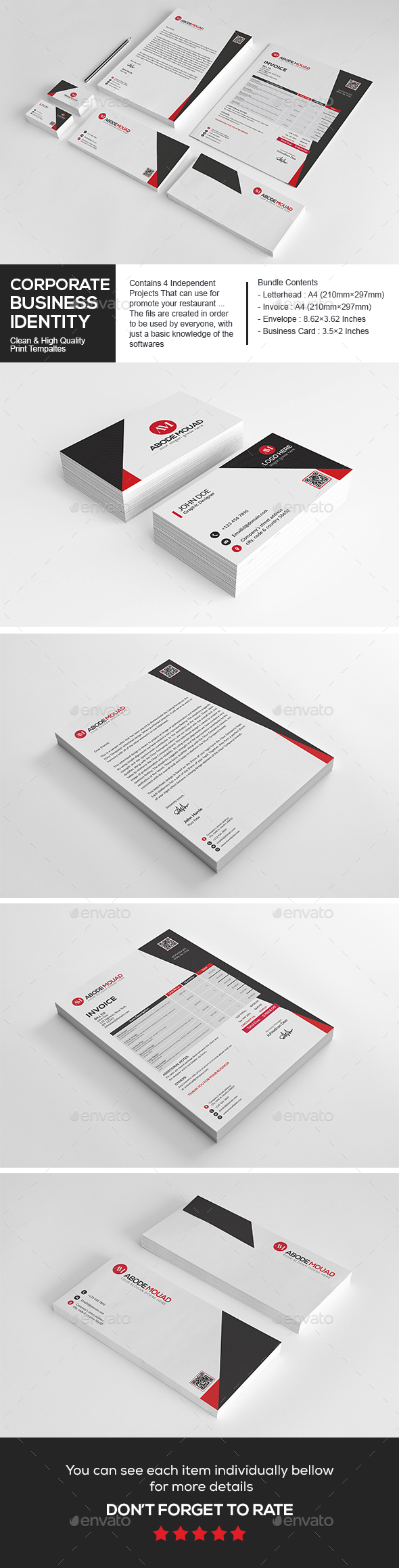 Corporate Business Identity - Stationery Print Templates