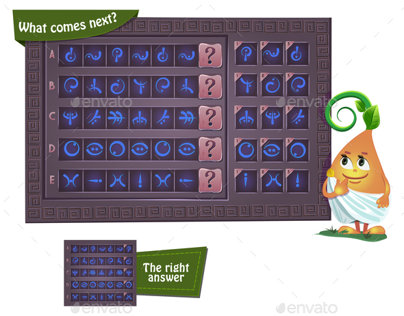 GraphicRiver What Comes Next Hieroglyphs 21150705