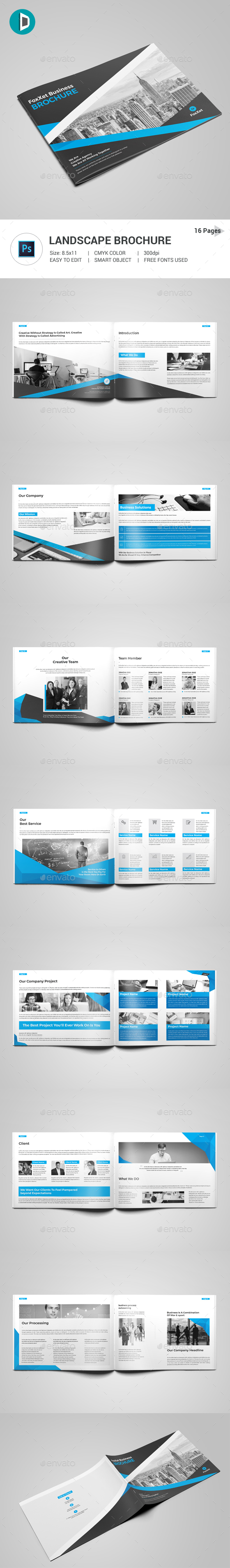 GraphicRiver Brochure 21150748