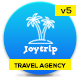 JoyTrip - Travel Agency Website Template