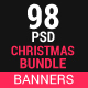 Christmas  banners bundle