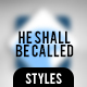 And He Shall Be Called - GraphicRiver Item for Sale