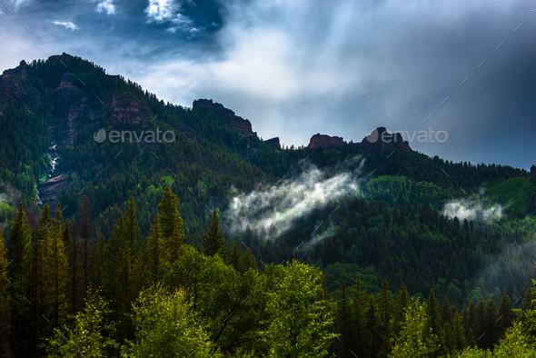 San Juan Mountains - Stock Photo - Images