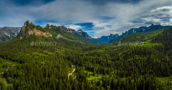 Uncompahgre National Forest - Stock Photo - Images