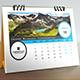 Desk Calendar 2018 - GraphicRiver Item for Sale