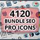 4120 Bundle Seo Pro Icons