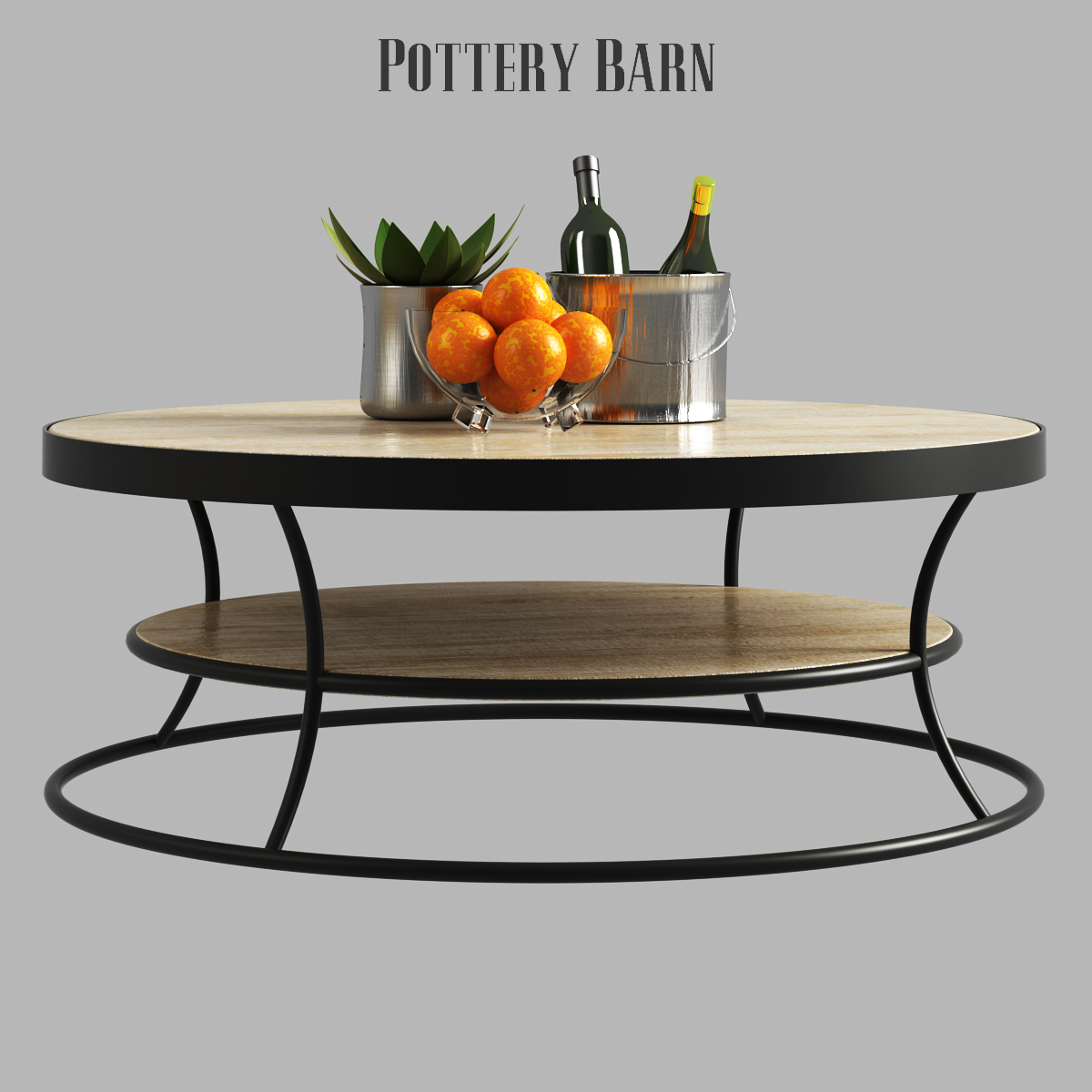 Bartlett Reclaimed Wood Coffee Table Side Console