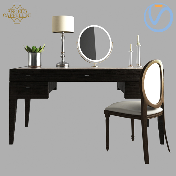 DIMITRI Opera Contemporary by Angelo Cappellini Dressing Tables - 3DOcean Item for Sale