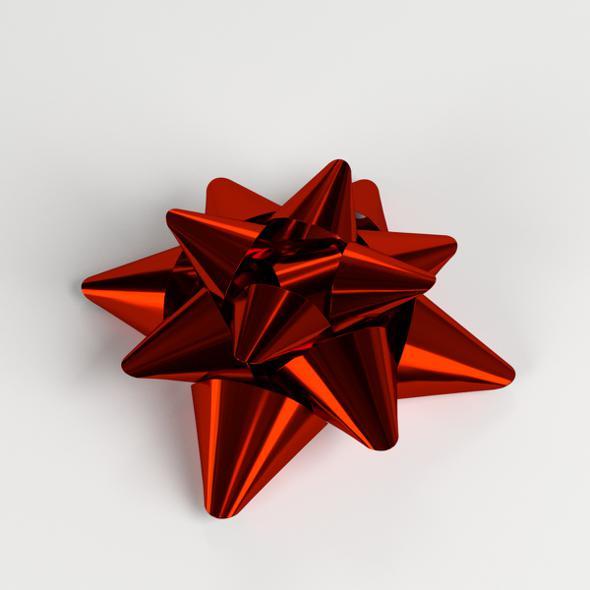 3DOcean Star Bow Ribbon 21151828