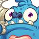 Blue Worried Monster - GraphicRiver Item for Sale
