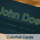 ColorLight - Business Card - GraphicRiver Item for Sale