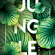 Jungle NIght Party Flyer