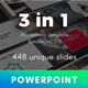 3 in 1 Multipurpose PowerPoint Template Bundle (Vol.03)
